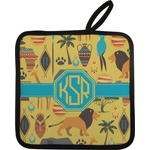 African Safari Pot Holder (Personalized)