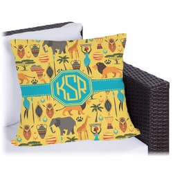 African Safari Outdoor Pillow (Personalized)
