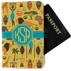 African Safari Passport Holder - Fabric (Personalized)