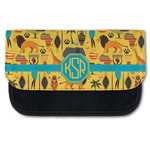 African Safari Canvas Pencil Case w/ Monogram