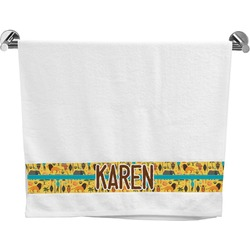 African Safari Bath Towel (Personalized)