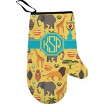 African Safari Right Oven Mitt (Personalized)