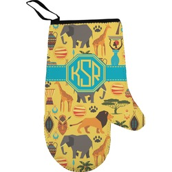 African Safari Oven Mitt (Personalized)