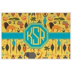 African Safari Placemat (Laminated) (Personalized)