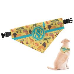 African Safari Dog Bandana (Personalized)