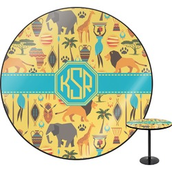 African Safari Round Table (Personalized)
