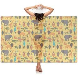 African Safari Sheer Sarong (Personalized)
