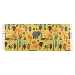 African Safari Faux Pashmina Scarf (Personalized)
