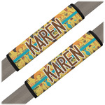 African Safari Seat Belt Covers (Set of 2) (Personalized)