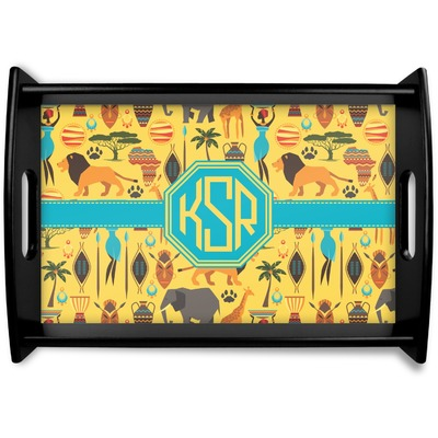 African Safari Wooden Trays (Personalized)