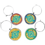 African Safari Wine Charms (Set of 4) (Personalized)