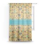 African Safari Sheer Curtains (Personalized)