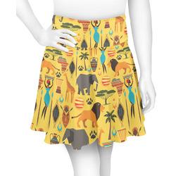 African Safari Skater Skirt (Personalized)