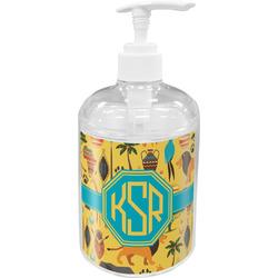 African Safari Acrylic Soap & Lotion Bottle (Personalized)