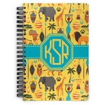 African Safari Spiral Bound Notebook (Personalized)