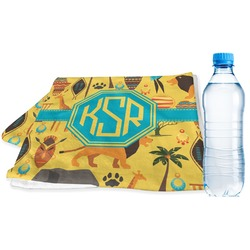 African Safari Sports & Fitness Towel (Personalized)