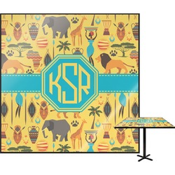 African Safari Square Table Top (Personalized)