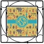 African Safari Square Trivet (Personalized)