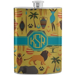 African Safari Stainless Steel Flask (Personalized)