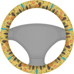 African Safari Steering Wheel Cover (Personalized)