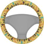African Safari Steering Wheel Cover (Personalized)