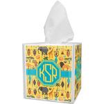 African Safari Tissue Box Cover (Personalized)