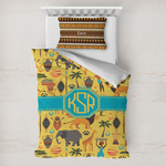 African Safari Toddler Bedding w/ Monogram
