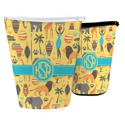 African Safari Waste Basket (Personalized)