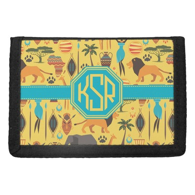 African Safari Trifold Wallet (Personalized)
