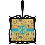 African Safari Trivet with Handle (Personalized)