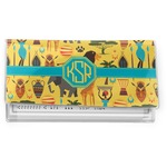 African Safari Vinyl Checkbook Cover (Personalized)