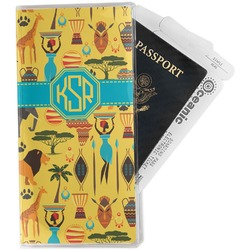 African Safari Travel Document Holder
