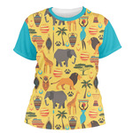 African Safari Women's Crew T-Shirt (Personalized)