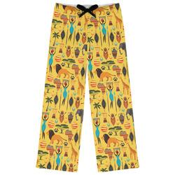 African Safari Womens Pajama Pants (Personalized)