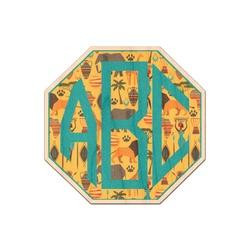 African Safari Genuine Wood Sticker (Personalized)