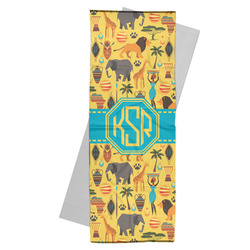 African Safari Yoga Mat Towel (Personalized)