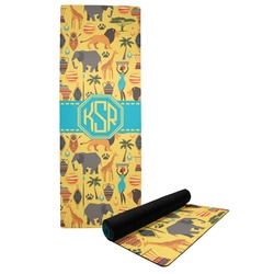 African Safari Yoga Mat (Personalized)