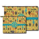 African Safari Zipper Pouch (Personalized)