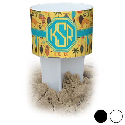 African Safari Beach Spiker Drink Holder (Personalized)