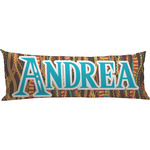 Tribal Ribbons Body Pillow Case (Personalized)