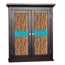 Tribal Ribbons Cabinet Decal - Custom Size (Personalized)