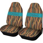 Tribal Ribbons Car Seat Covers (Set of Two) (Personalized)
