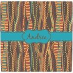 Tribal Ribbons Ceramic Tile Hot Pad (Personalized)