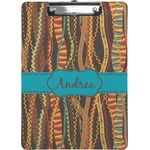 Tribal Ribbons Clipboard (Personalized)