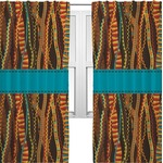 Tribal Ribbons Curtains (2 Panels Per Set) (Personalized)