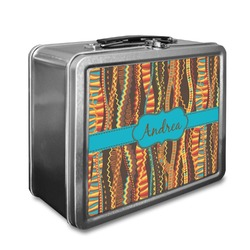 Tribal Ribbons Lunch Box (Personalized)