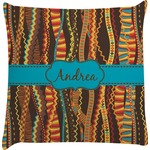 Tribal Ribbons Decorative Pillow Case (Personalized)