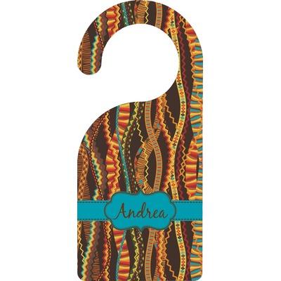 Tribal Ribbons Door Hanger (Personalized)
