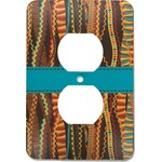 Tribal Ribbons Electric Outlet Plate (Personalized)