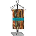 Tribal Ribbons Finger Tip Towel - Full Print (Personalized)